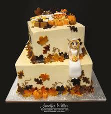 Kitchen Tea Cake Ideas Autumn Bridal Shower Cake By Artediamore On Deviantart