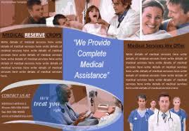 free brochure templates free word templates
