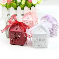 Heart Shaped Candy Boxes Wholesale Aliexpress Com Buy 50pcs Set Love Heart Party Wedding Candy