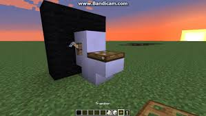Minecraft Bathroom Ideas How To Make A Toilet In Minecraft Xbox360 Xboxone Ps3 Ps4 Pc Youtube