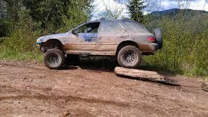 subaru baja mud tires bassett wheels has anybody tried them