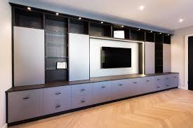 Living Room Cabinets Media U0026 Living Room Cabinets Fitted Furniture Hanging Space