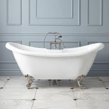 rosalind acrylic clawfoot tub imperial bathroom