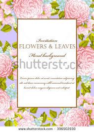 invitation for marriage invitation wedding marriage bridal birthday stock vector