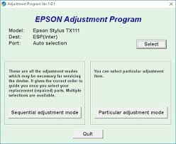 epson tx111 ink pad resetter aplus computer how to reset epson stylus tx111