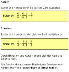mathe brüche klasse 6 mathematik digital grundwissen brüche zum wiki