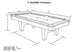 pool table pocket size professional english pool table size the drop pocket specs lg pool
