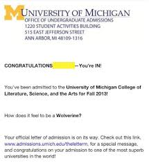 Awesome College Acceptance Letter Brilliant Ideas Of Sle Acceptance Letter To School Also