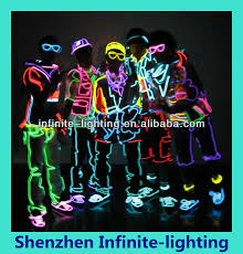 black light party clothes el wire clothes el wire clothes suppliers and manufacturers at
