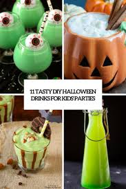 kids halloween drinks