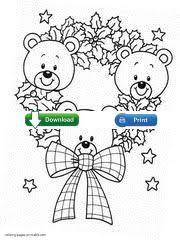 christmas coloring pages kids santa claus
