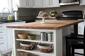 kitchen island butcher block tops house tweaking