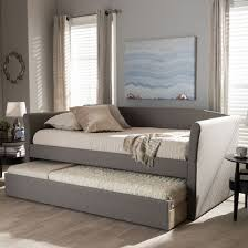 wholesale interiors cf8756 grey day bed camino modern grey fabric