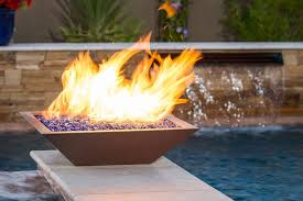 Fire Pit With Water Feature - bobe water u0026 fire