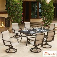 Sunvilla Bistro Chair Sunvilla Beaumont 7 Sling Dining Set Cover Dining Sets