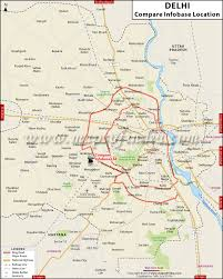 India Maps by Compare Infobase Delhi Location Map Maps Of India