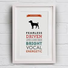 bichon frise jack russell cross temperament jack russell dog breed traits print by well bred design