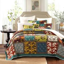 Summer Coverlet Chocolate Brown Quilt Set Tenille Brown Quilt Set Light Brown