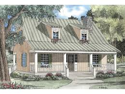 covered porch house plans elderberry cozy cabin home plan 055d 0069 house plans and more