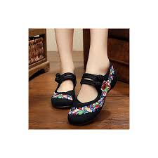Comfort Flat Shoes Women U0027s Shoes Canvas Spring Summer Fall Mary Jane Comfort Flats