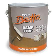 Sealant Paint For Damp Interior Walls Gripset Betta 1l Damp Stop Waterproofing Primer Bunnings Warehouse