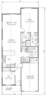 bungalow style house plan 4 beds 2 50 baths 1693 sq ft plan 423 27