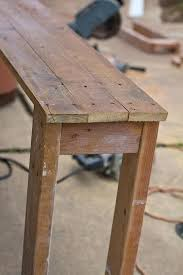 Free Diy Table Plans by Diy Console Table Plans U2013 Thelt Co