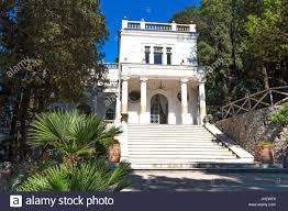 neoclassical home art nouvaeu neoclassical architecture villa lysis capri italy