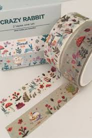 Washi Tape Designs by Super Cute Forest Friends Washi Tape Design So Many Patterns And