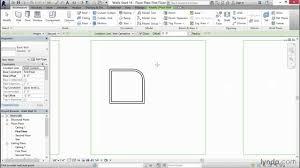 revit interior design tutorial drawing an interior wall lynda