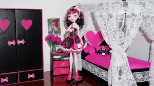 how to make a bed for monster high draculaura u0026 cleo de nile or
