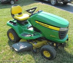 2007 john deere x300 lawn mower item dt9613 sold april