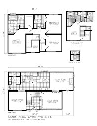 zspmed of two story floor plans