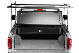 Folding Bed Cover 2015 2018 Ford F 150 Raptor Hard Folding Tonneau Cover Rack Combo