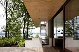 architect visit a puget sound cabin that rests lightly on the