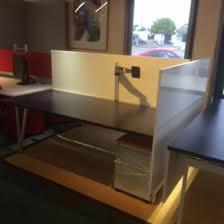 Knoll Reception Desk Used Office Furniture U0026 Cubicles Msi Office Furniture Orange