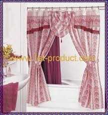 Double Shower Curtains With Valance 94 Best Shower Curtains Images On Pinterest Shower Curtains