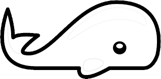 small whale coloring coloring pages animals org