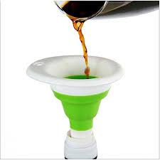 entonnoir de cuisine entonnoir pliable vert ustensiles de cuisine pas cher sur jumia