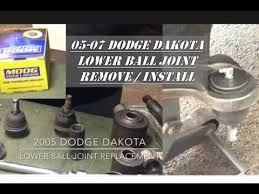 dodge dakota joint recall 2005 dodge dakota lower joint replacement