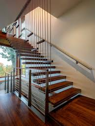 suspended stairs houzz
