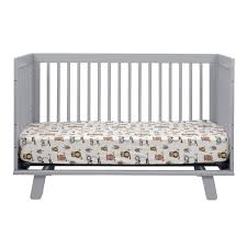 Babyletto Hudson 3 In 1 Convertible Crib With Toddler Rail by Babyletto Hudson 3 In 1 Convertible Crib In Grey Free Shipping