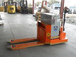 2 electric walkie pallet jack ex rated forklifts in stock and