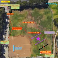 Griffith Park Map Echo Park Tennis Center Baseball Field