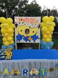 minion party ideas my kids minion party way to monik can paint it for us