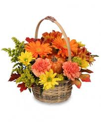 flower basket enjoy fall flower basket basket arrangements flower shop network