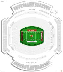 Metlife Stadium Floor Plan by Bryant Denny Stadium Alabama Seating Guide Rateyourseats Com