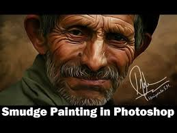 tutorial smudge painting indonesia tutorial smudge painting di photoshop youtube