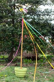 Small Flag Pole May Day Celebration And A Diy Maypole Buzzmills
