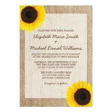 sunflower wedding invitations sunflower wedding invitations announcements zazzle co uk